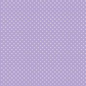 Spot by Makower UK - 5365 - White Spots on Lilac - 830_L - Cotton Fabric